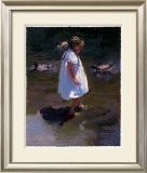 Lakeside Stroll Prints by Nancy Seamons Crookston
