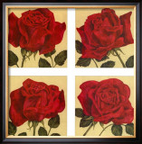 Roses are Red Print by Judy Shelby