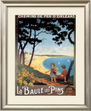 Baule Les Pins Prints by  Cesbron