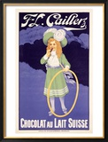 F.J. Cailler's Chocolat Framed Giclee Print