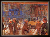 Place Clichy Prints by Pierre Bonnard