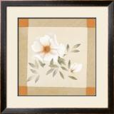 Magnolia Tile I Art by Muriel Verger