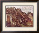Farmhouses Posters by Vincent van Gogh