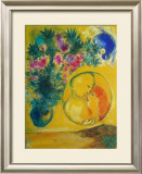 Sun and Mimosas Posters by Marc Chagall