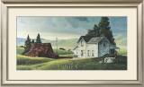 Washday in the Valley Print by R. Bradford Johnson