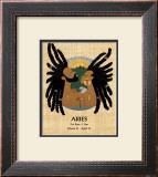 Aries (Mar 21-Apr 19) Print by  Orah-El