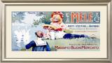 Mele-Abiti E Vestine Framed Giclee Print