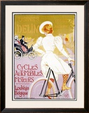Usines Delin Framed Giclee Print by Georges Gaudy