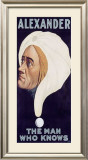 Alexander, The Man Who Knows Framed Giclee Print