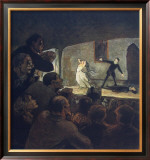 The Play Posters by Honore Daumier