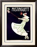 Mistinguett Framed Giclee Print by Georges Kugelmann Benda
