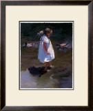 Lakeside Stroll Posters by Nancy Seamons Crookston