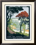 Cote d'Emeraude Framed Giclee Print