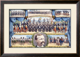 Haverly's United Mastodon Minstrels Framed Giclee Print by Matt Morgan