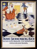 Trinkt Sternenberg Bier Framed Giclee Print