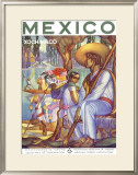 Guadalajara, Mexico Framed Giclee Print