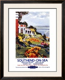 Southend-On-Sea, British Rail, c.1960 Framed Giclee Print by Kenneth Steel