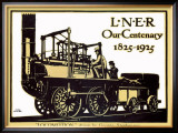 Our Centenary, 1825-1925, LNER Poster, 1925 Framed Giclee Print by Terence Tenison Cuneo