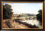Richmond on Thames Poster by Edmund Niemann