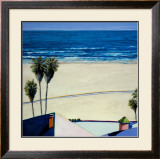 Santa Monica Bike Trail Prints by Douglas K. Morris