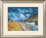 Thatched Cottages at the Roadside Prints by Maurice Vlaminck