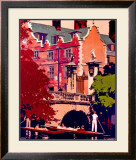 St. Johns, Cambridge Framed Giclee Print by Fred Taylor
