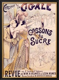 La Cigale Framed Giclee Print by Alfred Choubrac