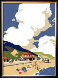 Saltburn-by-the-Sea, LNER, 1923-1947 Framed Giclee Print by Frank Newbould