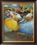 Three Dancers, 1898 Prints by Edgar Degas