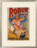 Robur Quinquina Framed Giclee Print by Albert Guillaume