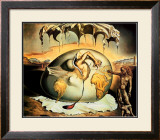 Geopoliticus Child Art by Salvador Dalí
