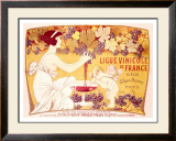 Ligue Vinicole de France Framed Giclee Print by Manuel Orazi