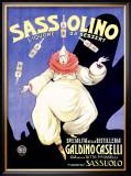 Sassolino Framed Giclee Print