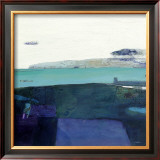 Coastline at Killouan Print by Russell Frampton