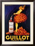 Guillot Triple Sec Framed Giclee Print