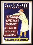 Chocolat Jules Damoy Prints by  Vavasseur