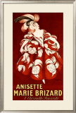 Anisette Marie Brizard Framed Giclee Print by Leonetto Cappiello