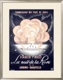 La Nuit de la Rose Framed Giclee Print