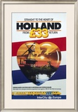 Straight to the Heart of Holland, British Rail Framed Giclee Print