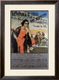 Corrida a San Sebastien Framed Giclee Print by Ruano Elopis