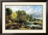 Stratford Mill, 1820 Prints by John Constable