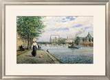 The Bridges of Paris Prints by Alan Maley