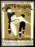 Monte Tabor Bennefit Festa Framed Giclee Print
