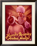 Handy-Bandy and Nadia-Nadyr Framed Giclee Print