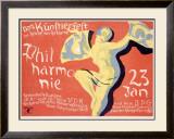 Philharmonie Framed Giclee Print by  Riemer