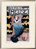 Bieres de la Meuse Framed Giclee Print