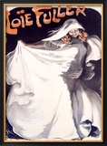 Loie Fuller Framed Giclee Print by Jules-Alexandre Grün