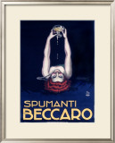 Spumanti Beccaro Framed Giclee Print by Achille Luciano Mauzan