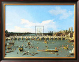 Westminster Bridge, London, Poster by Canaletto 