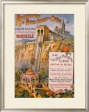 Marseille Framed Giclee Print